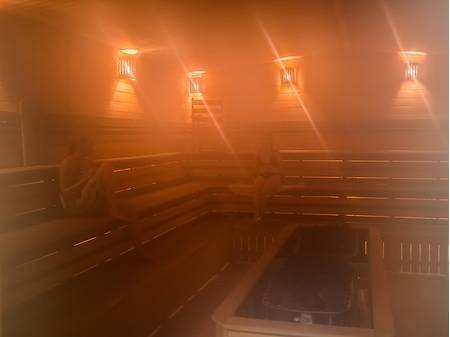 Russian steam bath