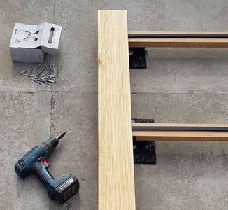 Монтажа террасы из лиственницы - это просто!