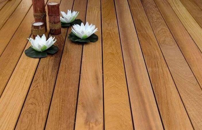 Terrase Decking from Iroko ARIX