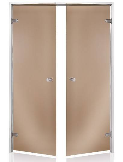 Steam doors ANDRES Double Sauna doors