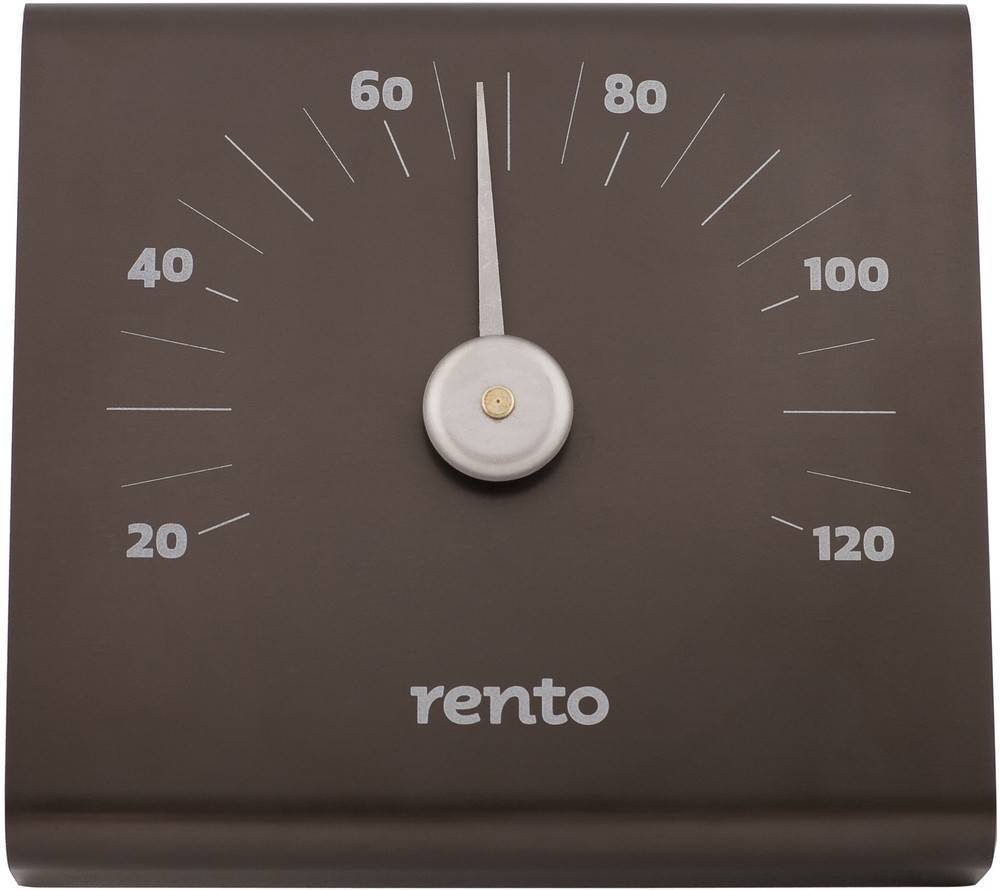 Accessories for saunas Rento Aluminum Sauna Thermometer