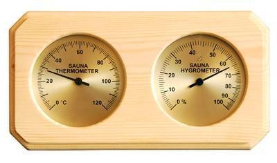 Accessories for saunas Thermometer-hygrometer
