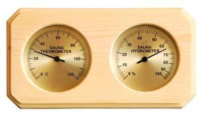 Sauna rekviziti Termo-higrometar