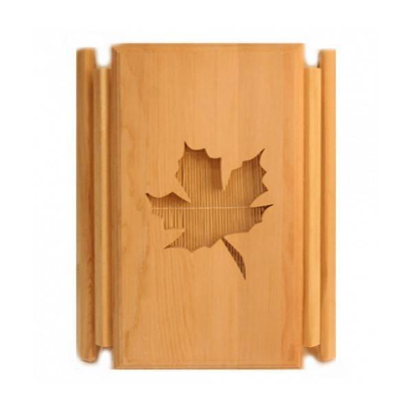 Sauna lighting Lampshade Maple