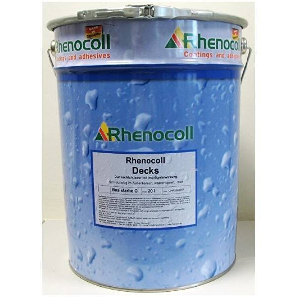 Painting materials Rhenocoll Street flooring-Rhenocoll Decks Rhenocoll, Germany