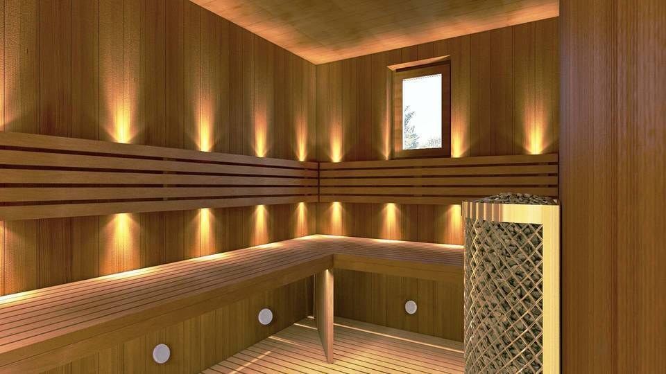 Accessories for saunas Sauna, Hammam, Pool Speakers (WATERPROOF)