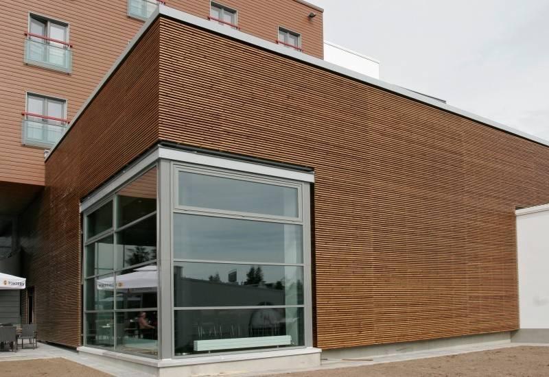 Wooden faсade Front board ARIX-Elegant ARIX