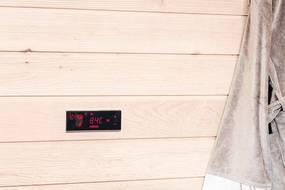 Upravljačke ploče za saune sa električnim grijačima Harvia Xafir je kontrolna jedinica sa kontrolnim panelom na dodir Harvia