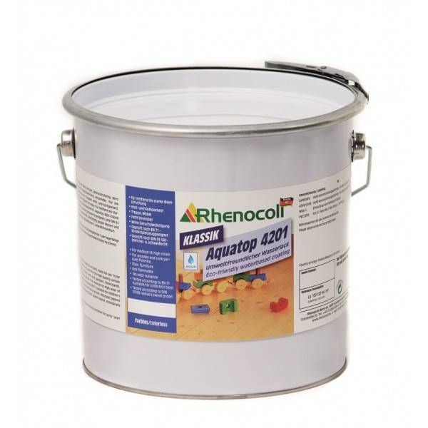 Painting materials Rhenocoll Lacquer Rhenocoll Aquatop 4201 Rhenocoll, Germany