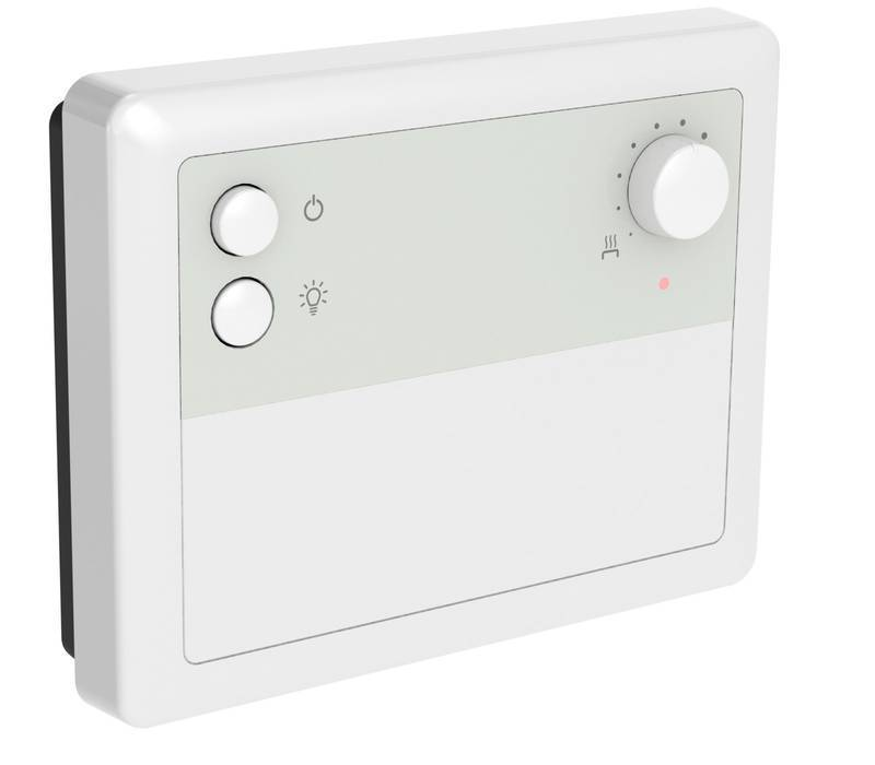 Control panels for saunas with electric heaters Senlog control unit Harvia