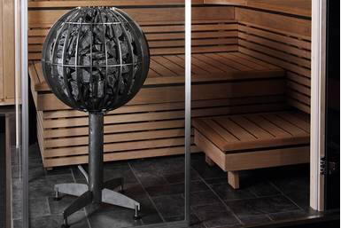 Electric heaters for family saunas with a volume of 5 ~ 18 м³ Harvia Globe GL70 Harvia