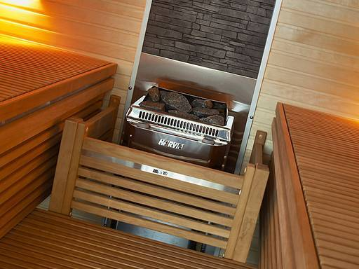 Electric heaters for small saunas with a volume of 1.5 ~ 8 м³ Harvia Topclass Combi Harvia