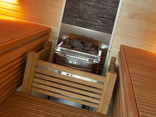 Električne peći za male saune zapremine od 1,5 do 8 m³ Harvia Topclass Combi Harvia