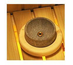 Accessories for saunas Wooden Stand and Water Bowl with Flexible Hose for Harvia Hidden Heater