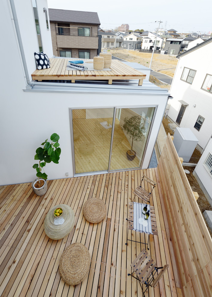 Wooden floors Decking larch terrace 20×90, 20×120, 20x145 - smooth ARIX