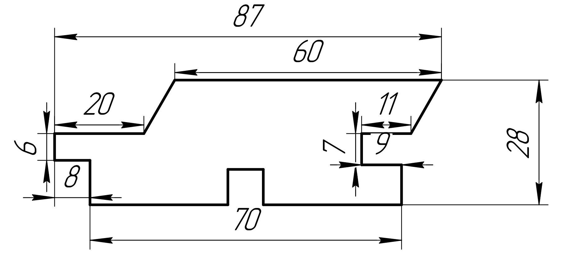 Drvene fasade Fasadna daska  28 x 87  ARIX-Elegant od Sibirskog Ariša ARIX