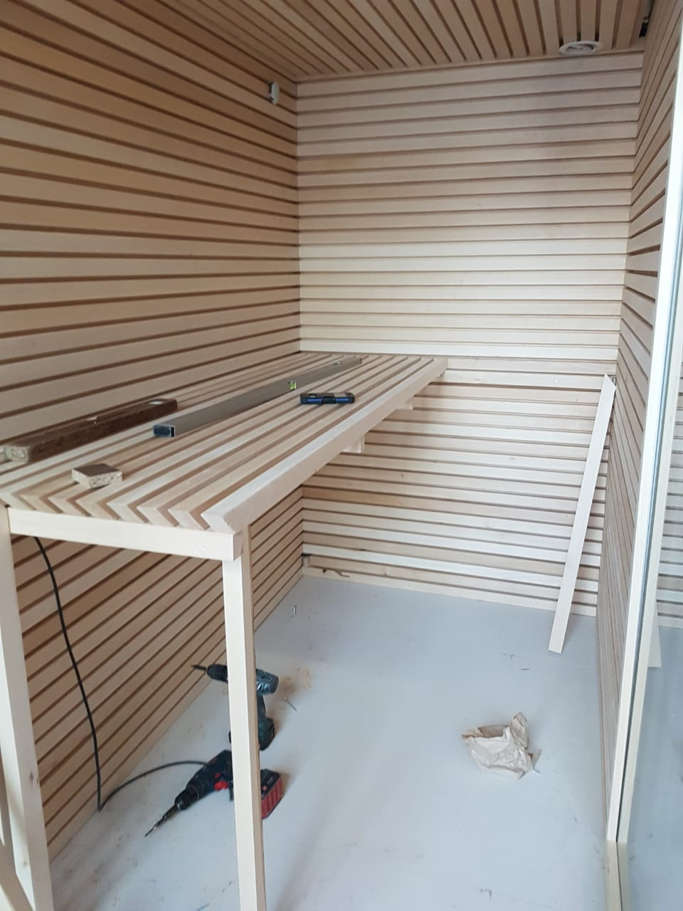 Lamperia for saunas Wall paneling from Linden ARIX