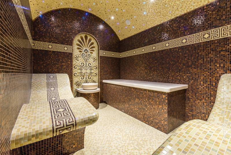Materials and equipment for hamam (turkish bath)